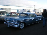 1958 Chrome Olds Convertible