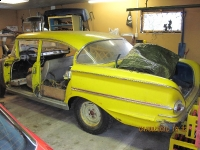 1958 Chevy Bel Air project