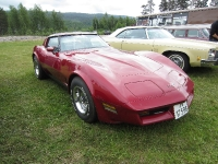 Rita og Jan Høylands 81 Corvette