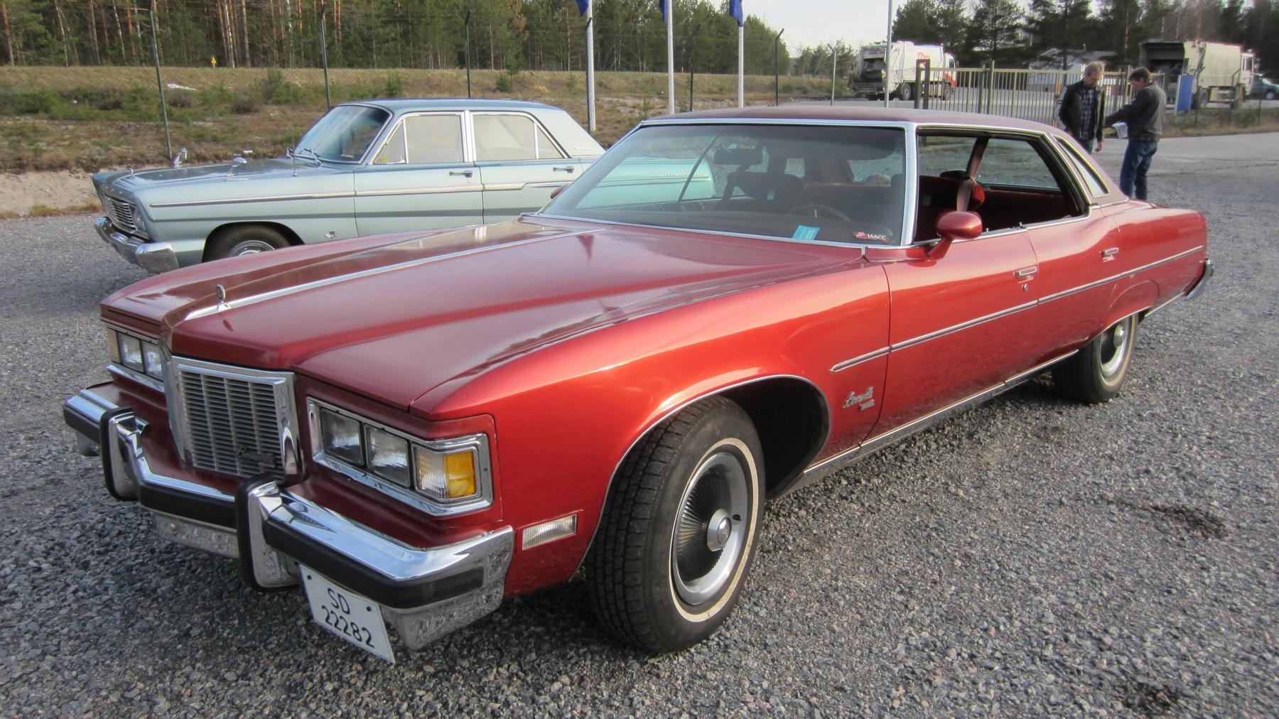 1976 Pontiac Bonneville Brougham Wwwiaaccno